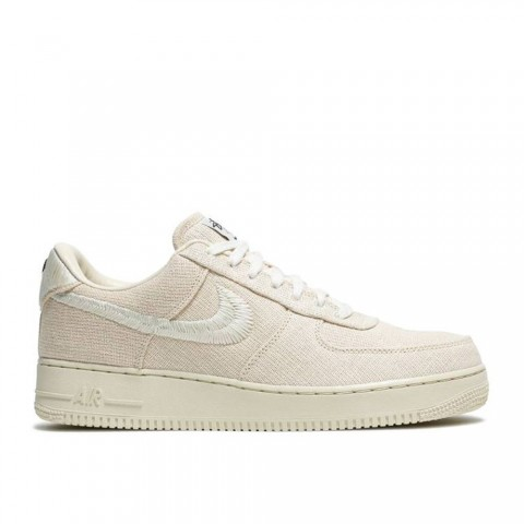 """Fossil Stone, Fossil Stone Nike Air Force 1 Low """"Stussy - Fossil"""" Unisex Schoenen CZ9084-200"""