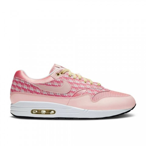 "Sfeer/Sfeer/Echt Wit Nike Air Max 1 Premium ""Strawberry Lemonade"" Unisex Schoenen CJ0609-600"