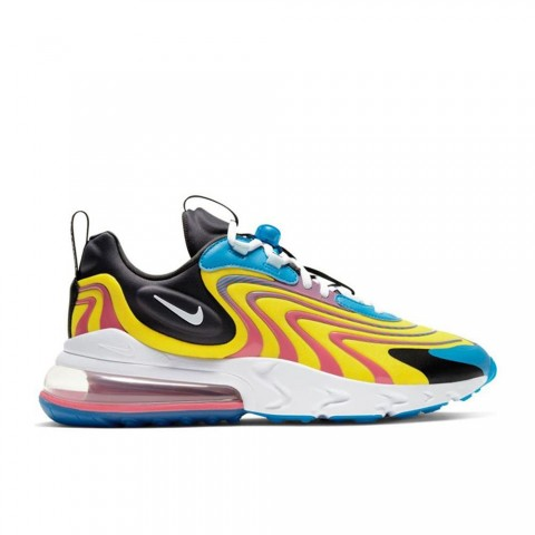 Laserblauw, Wit, Antraciet Nike Air Max 270 React Eng Herenschoenen CD0113-400