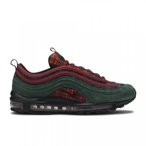 Team Rood, Midnight Spruce Nike Air Max 97 NRG Jacket Pack Unisex Schoenen AT6145-600