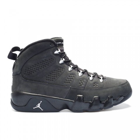 Antraciet, wit, zwart Air Jordan 9 Retro herenschoenen 302370-013