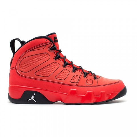 "Challenge Rood, Wit, Zwart Air Jordan 9 Retro ""Motorboat Jones"" Herenschoenen 302370-645"