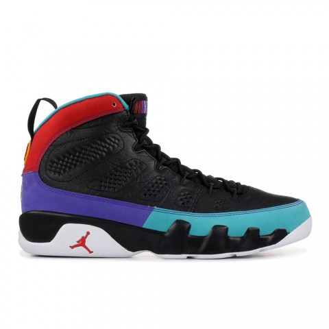 "Zwart/Donkerrood Air Jordan 9 Retro ""Dream It, Do It"" herenschoenen 302370-065"