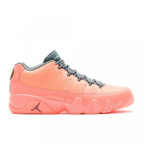 Bright Mango/Hasta/Ghost Groen Air Jordan 9 Retro Low Herenschoenen 832822-805