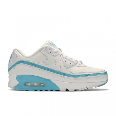 Wit/Blauw Fury Nike Undefeated X Air Max 90 Herenschoenen CJ7197-102