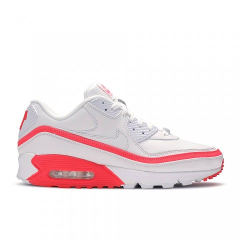 wit/zonne-rood Nike Undefeated X Air Max 90 Unisex Schoenen CJ7197-103